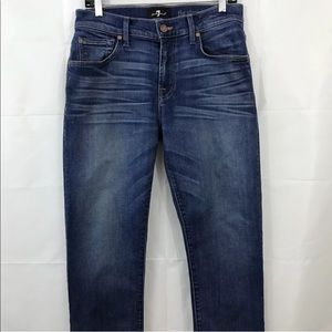 7 For All Mankind Jeans Luxe Performance Straight
